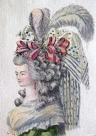 Le Magasin des modes, 1787 Dessin : Claude-Louis Desrais ; gravure : A.-B. Duhamel. 23e cahier, pl. II. Maciet MOD/2/35 © Bibliothèque des Arts Décoratifs