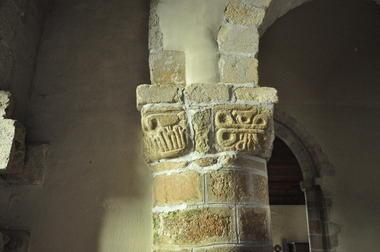 Eglise - Priziac - intérieur - Pays roi Morvan - Morbihan Bretagne sud - CP CCPRM (49).JPG