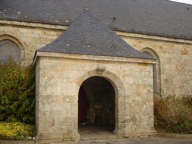 Eglise de Guiscriff - Guiscriff - Pays roi Morvan - Morbihan Bretagne sud - CP OTPRM (14).JPG