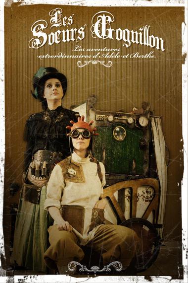 Spectacle - Les soeurs Goguillon © Cie Les Vaporeuses
