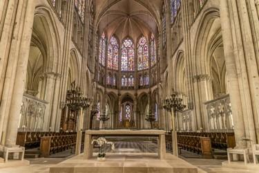 Choeur Cathédrale © Laurent Lempens