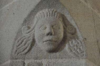 Eglise de Guiscriff - Guiscriff - Sculture - Pays roi Morvan - Morbihan Bretagne sud - CP OTPRM (4) .JPG