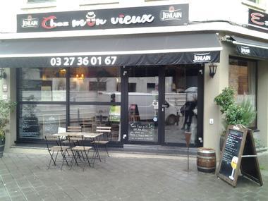 Chez Mon Vieux - Valenciennes -  Restaurant - Façade (1) - 2018.jpg
