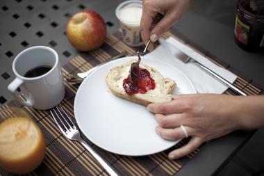 Le petit déjeuner - Les Béthunoises - Béthune © Brigitte Baudesson
