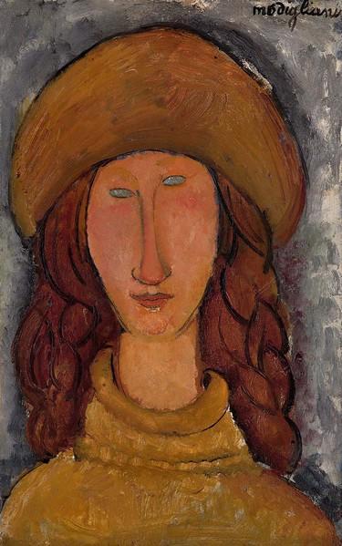Amedeo Modigliani, Jeanne Hébuterne, © Ville de Troyes