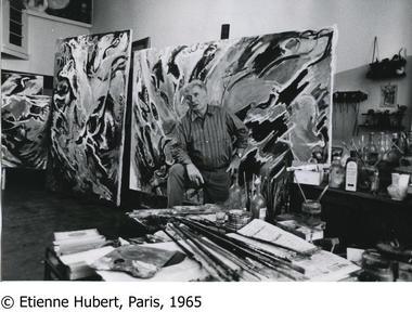 Edouard Pignon Photo d'Etienne Hubert, Paris, 1965.jpg