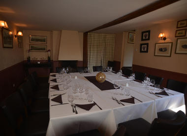 Salle du restaurant La Creusille à Blois