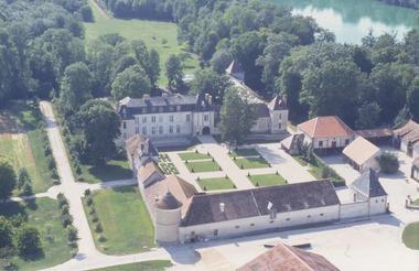 Vue aérienne Château Droupt - © C. Paupe.jpg