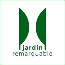 Logo officiel du label Jardin Remarquable