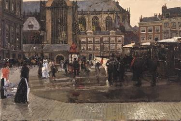 Breitner Der Dam in Amsterdam.jpg