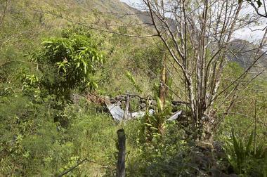 Les restes de l'îlet Cambour