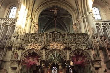 Jubé - Eglise Sainte Madeleine©D Le Névé Troyes