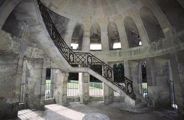 Escalier de la Pagode de Chanteloup à Amboise