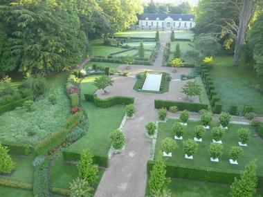 Les jardins du château de Cheverny en Val de Loire