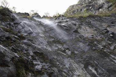 Passage de la cascade Flamant