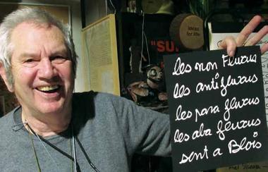 Ben à Fondation du Doute à Blois