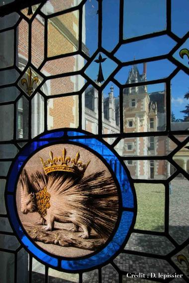 Aile Louis XII du château royal de Blois