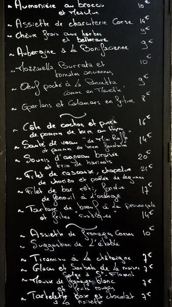 Cantine de Marius - Saint-Germain-en-Laye
