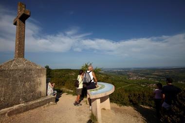vue à 360 depuis la Montagne des 3 Croix©J Piffaut