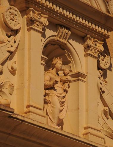 Détail d'architecture du Château de Troussay de le Loir et Cher