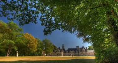 Parc du Château de Villesavin à Tour en Sologne