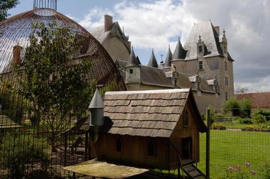 Jardins du Château de Fougères-sur-Bièvre en Loir er Cher