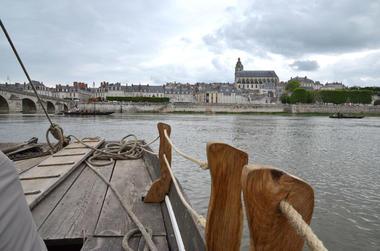 Promenade en Futreau sur la Loire à Blois