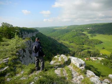 Pannorama depuis les falaises de Bouilland©P Gateau
