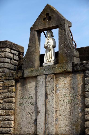 Saint Vincent veillant sur les vignes©A Muzard