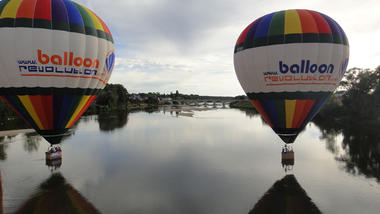 Vol au dessus de la Loire BalloonRevolution - EvenementCiel