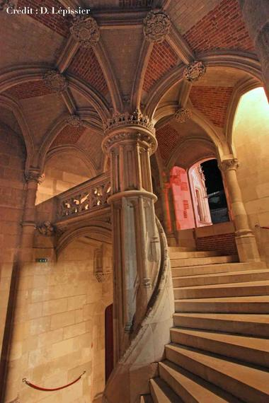 Escalier Louis XII au Château Royal de Blois