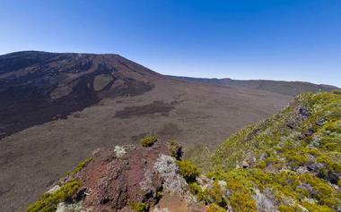 Volcan vu du Piton Partage