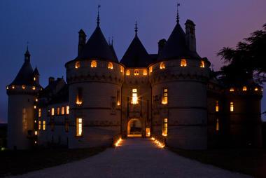 Domaine Régional de Chaumont-sur-Loire pendant les nuits magiques