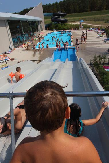 Tobogan Centre Aquatique Agl'eau