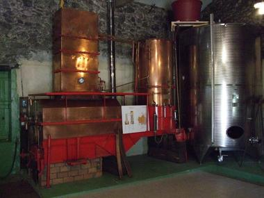 Alambic et distillation
