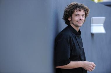 Eric Sampietro, chef de La Table des Cordeliers à Condom