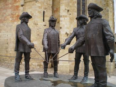 Statue des mousquetaires