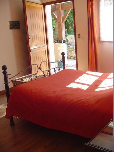 Chambre PMR avec lit double