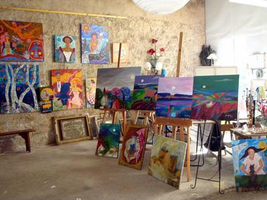 Collection Tourisme Gers/Atelier d'artiste Annie Giry