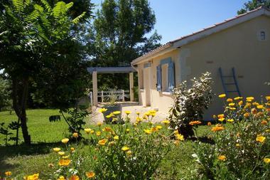 Terrasse sur jardin