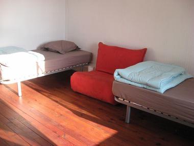 Chambre avec lits individuels