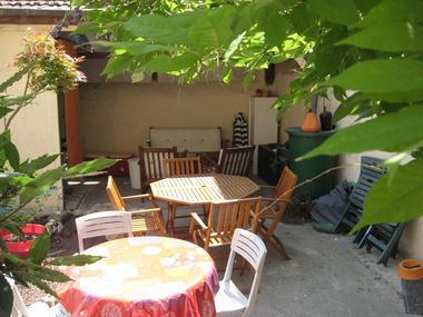 Terrasse aménagée