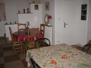 Cuisine et salle à manger communes