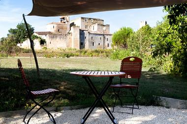 Collection Tourisme Gers/L'Auberge de Larressingle/Valerie Servant