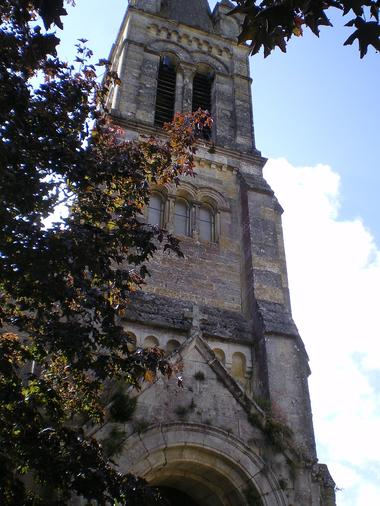 Clocher de l'église de Herret