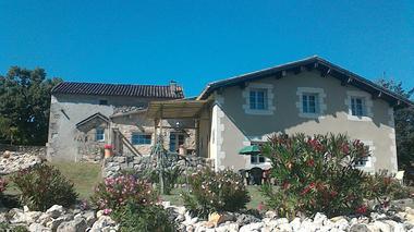 Terrasse et pergola