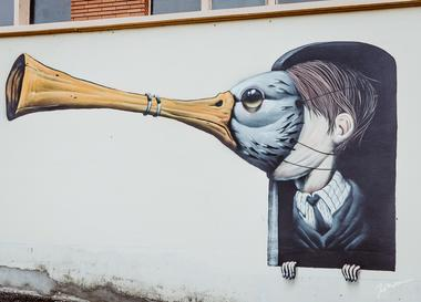 Photo street art Gimont