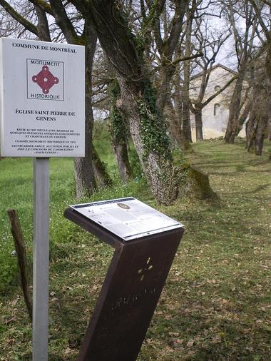 Genens, inscrit aux monuments historique, Armagnac Confidentiel