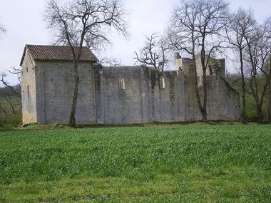 Vue de Saint Pierre de Genen