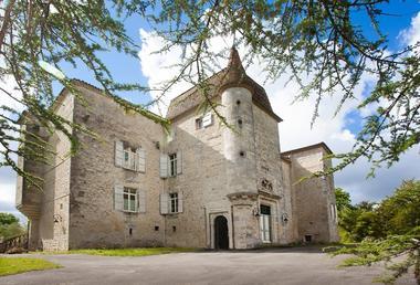 Château de Gensac à Condom